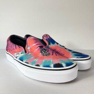 Vans Classic Slip-On Tie Dye Grateful Dead Shoes